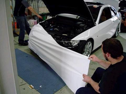 Car Wrapping Pellicola Vs Vernice Carrozzeria Autorizzata
